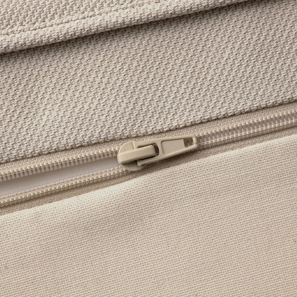 UPPLAND Cover for sofa, with chaise/Totebo light beige