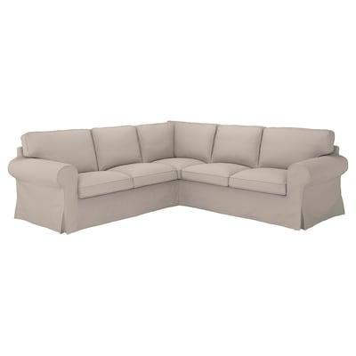 UPPLAND Sectional, 4-seat corner, Totebo light beige