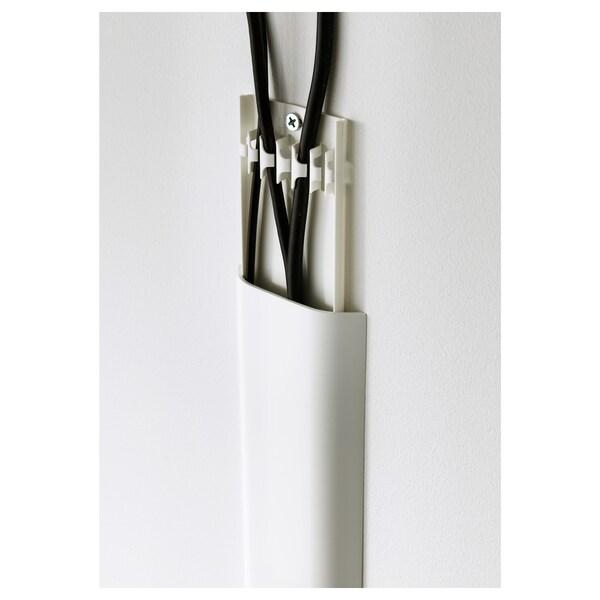 Uppleva Cord Cover Strip White