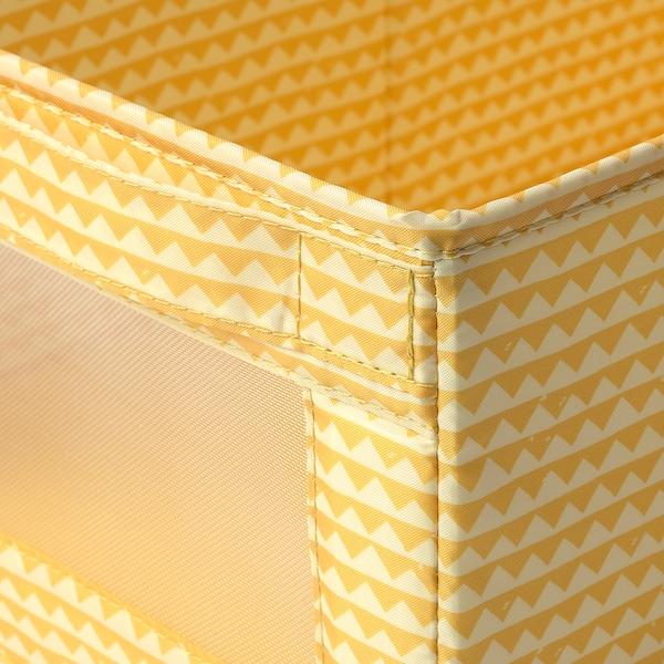 "UPPRYMD Box, yellow, 9 ¾x17 ¼x6 ¾ """