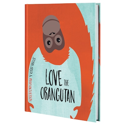 URSKOG Book, Love the Orangutan
