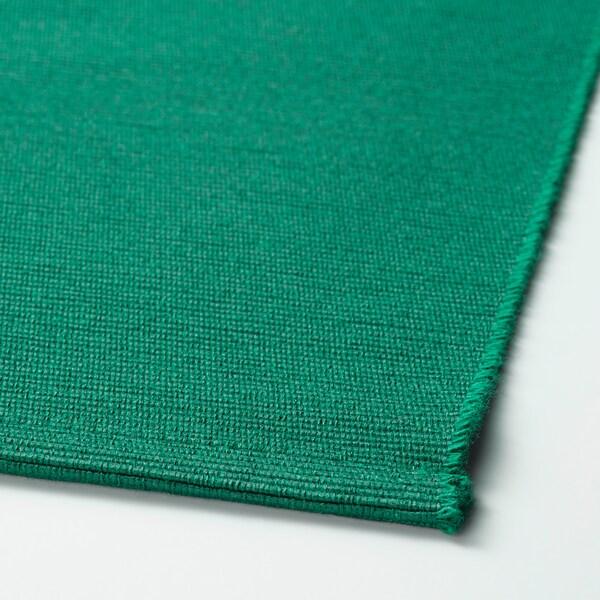 """UTBYTT Place mat, dark green, 14x18 """""""