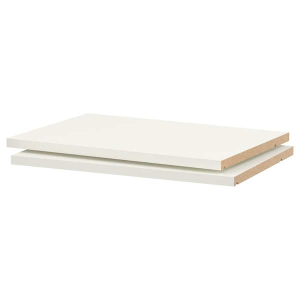 "UTRUSTA shelf white 19 1/2 "" 14 3/4 "" 21 "" 13 7/8 "" 3/4 "" 44 lb 2 pack"