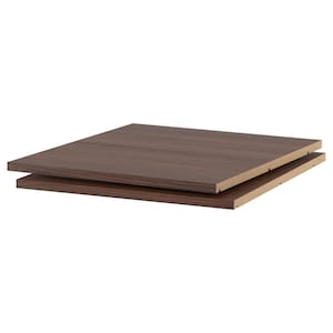 Color: Wood effect brown.