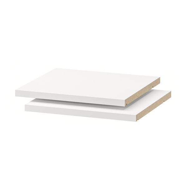 """UTRUSTA shelf white 13 1/2 """" 14 3/4 """" 15 """" 13 7/8 """" 3/4 """" 33 lb 2 pack"""