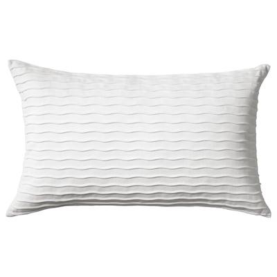 "VÄNDEROT Cushion, white, 16x26 """