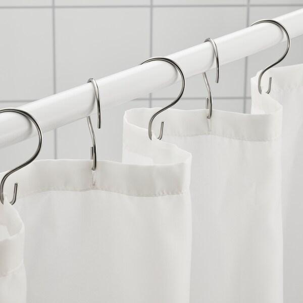 """VÄNNEÅN Shower curtain, white, 71x71 """""""