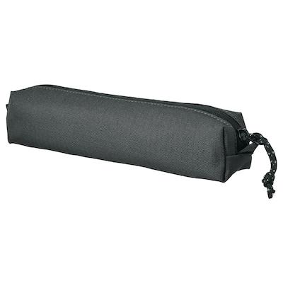 "VÄRLDENS Accessory bag, dark gray/small, 8 ¼x1 ½x1 ½ """