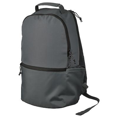 VÄRLDENS Backpack, dark gray, 4 gallon