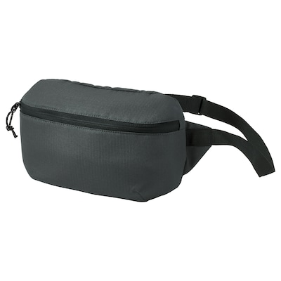 VÄRLDENS Belt bag, dark gray