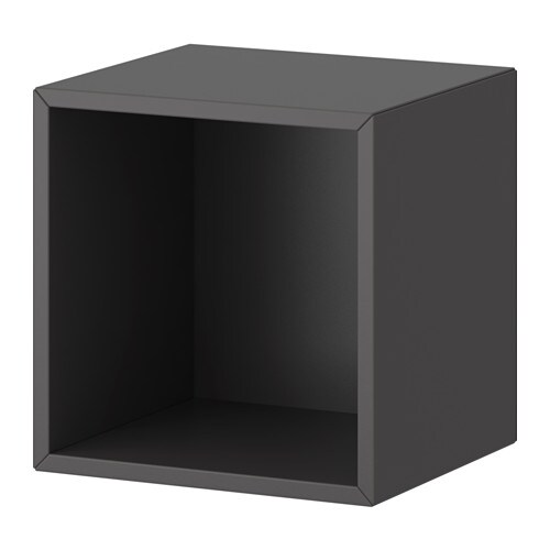 valje wall cabinet dark gray ikea. Black Bedroom Furniture Sets. Home Design Ideas