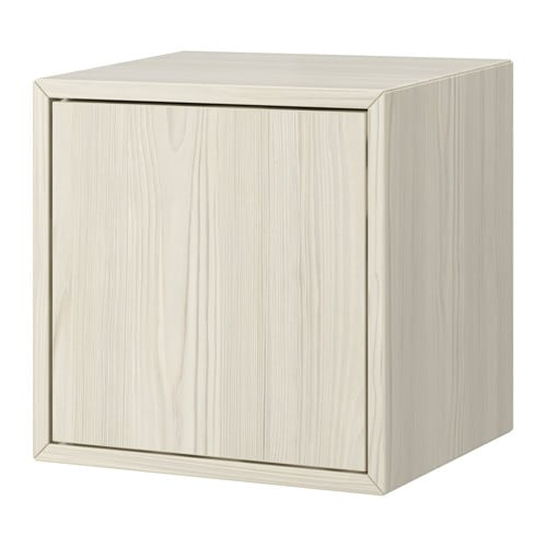 Valje Wall Cabinet With 1 Door Larch White Ikea