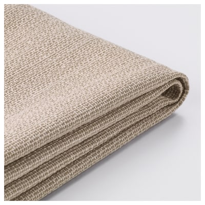 VALLENTUNA Cover for back cushion, Hillared beige