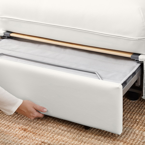 VALLENTUNA Sleeper module with backrests, Murum white