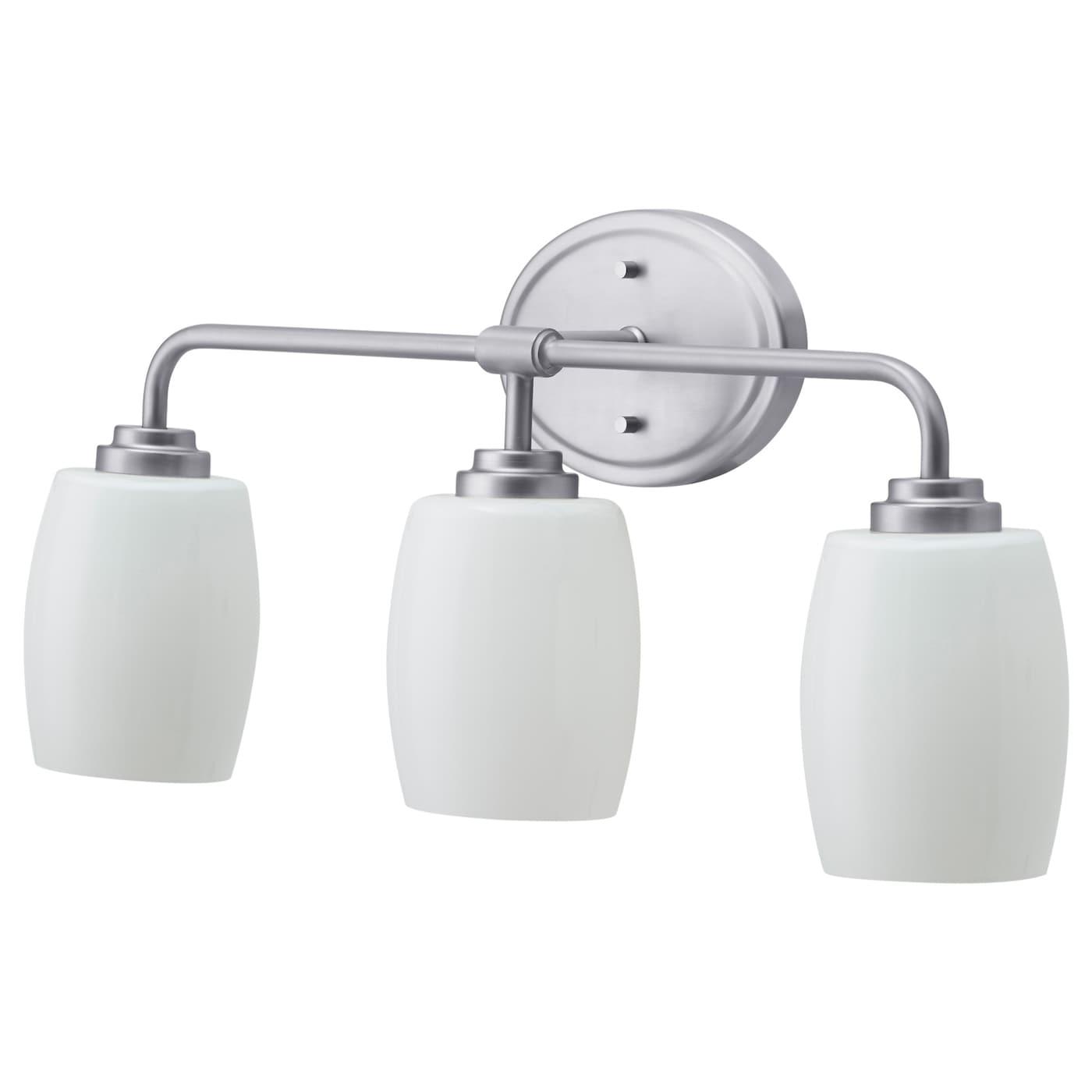 Wall Lamp 3 Spots Nickel Plated