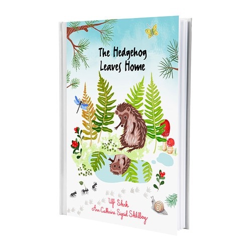 VANDRING - THE HEDGEHOG Book   Come on a journey with the hedgehog and meet the animals and plants of the forest.