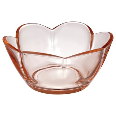 VANLIGEN Tealight holder, light pink, 2 ""