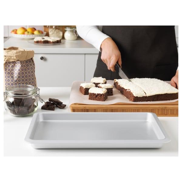 "VARDAGEN Baking pan, silver color, 15x10 ""/2 qt"