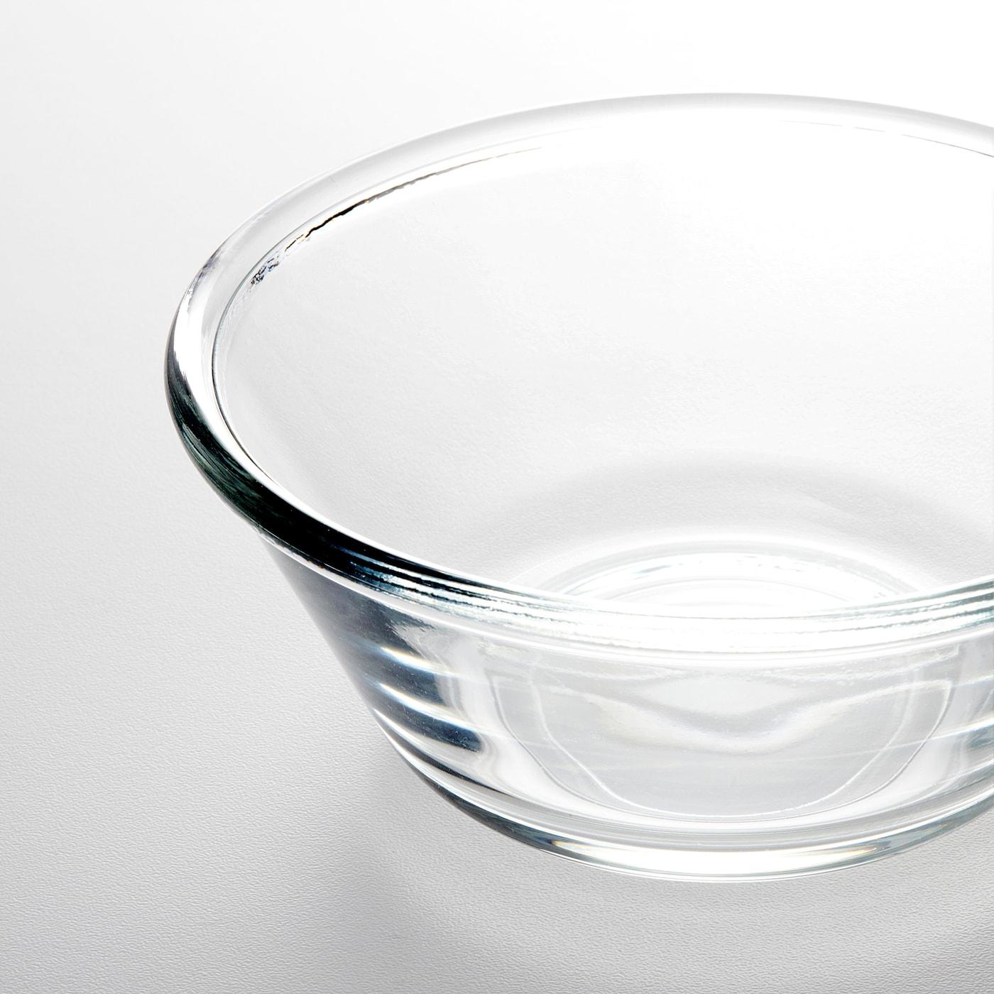 """VARDAGEN Bowl, clear glass, 6 """""""