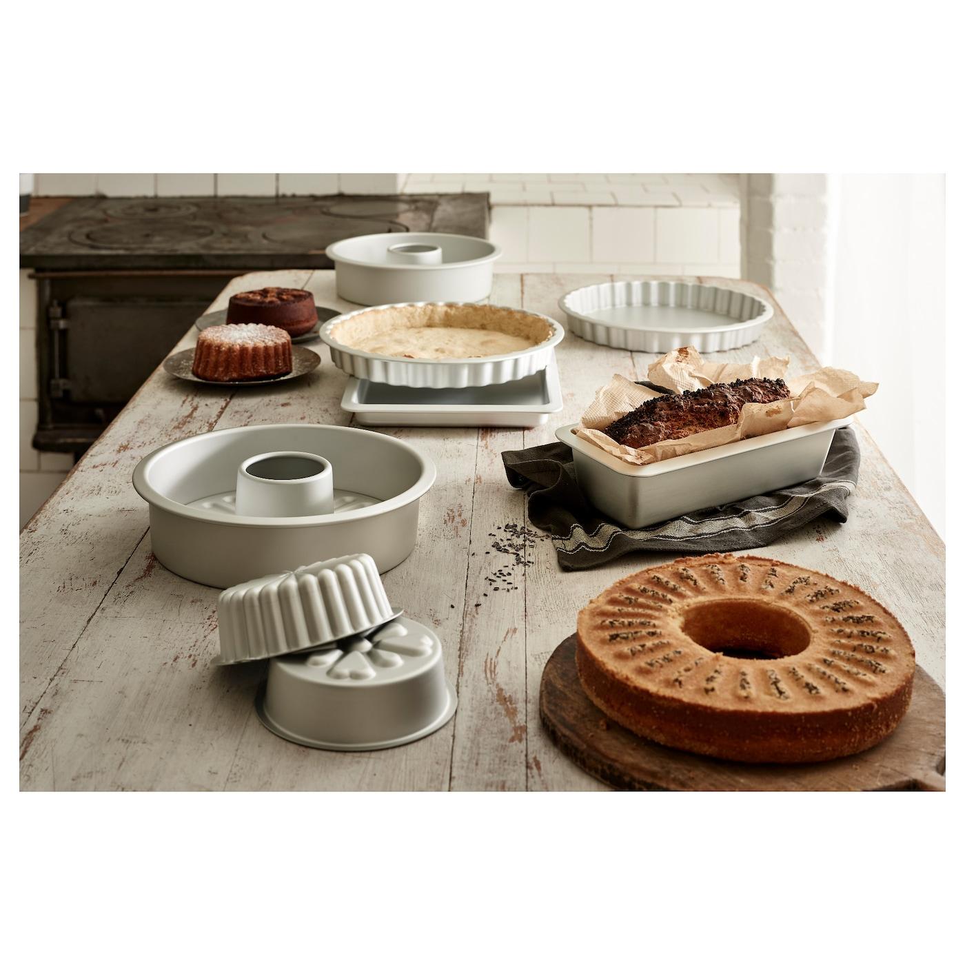 VARDAGEN Cake pan, silver color