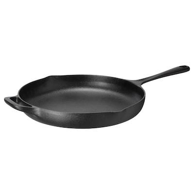 "VARDAGEN Frying pan, cast iron, 11 """