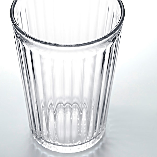VARDAGEN Glass, clear glass, 10 oz
