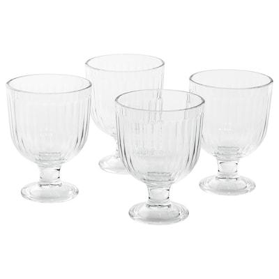 VARDAGEN Goblet, clear glass, 9 oz