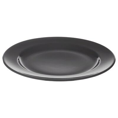 """VARDAGEN plate dark gray 10 ¼ """""""