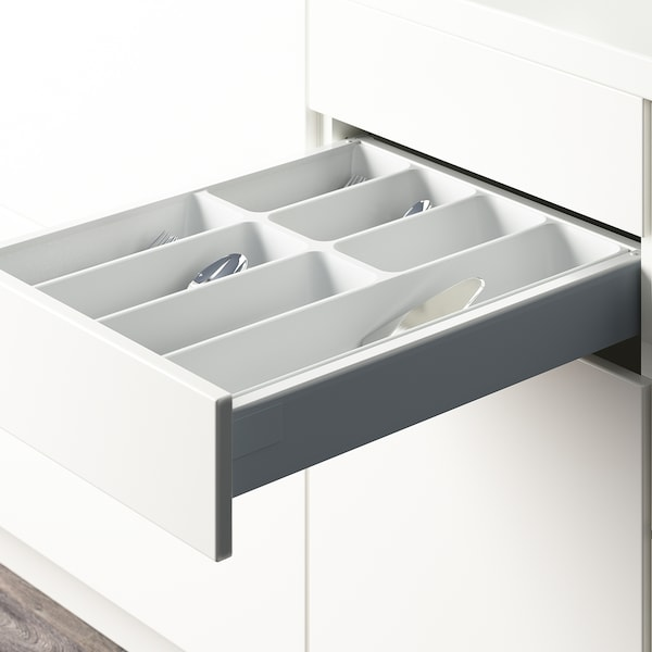 "VARIERA Flatware tray, white, 15x20 """