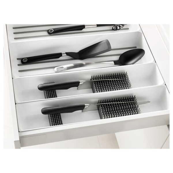 VARIERA Knife tray, white, 6x20 ""