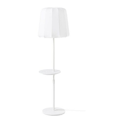 Varv Floor Lamp W Pad Wireless Charging Ikea