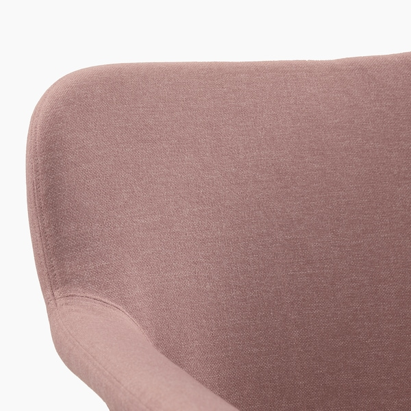 VEDBO Armchair, Gunnared light brown-pink