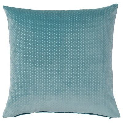 VENCHE Cushion cover, light blue, 20x20 ""