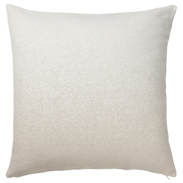 "VIDESPINNARE Cushion cover, beige, 20x20 """