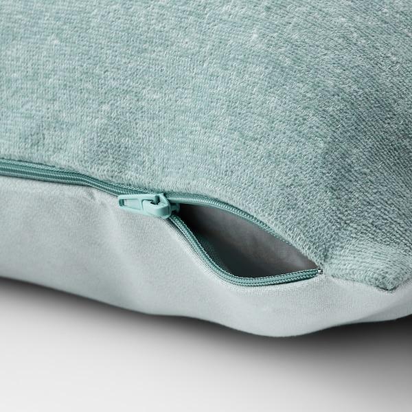 "VIDESPINNARE Cushion cover, light blue, 20x20 """