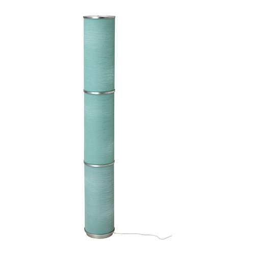 VIDJA Floor lamp   Fabric shade gives a diffused and decorative light.