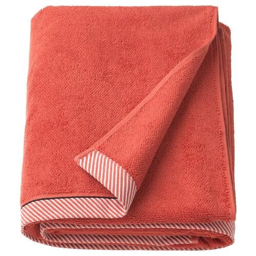 """VIKFJÄRD bath sheet red 59 """" 39 """" 16.15 sq feet 1.56 oz/sq ft"""