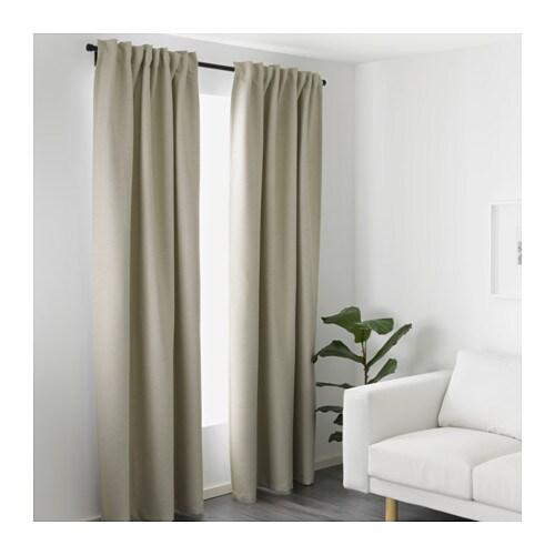 VILBORG Curtains, 1 pair - IKEA