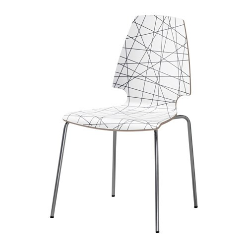 VILMAR Chair   The chair's melamine surface makes it durable and easy to keep clean.