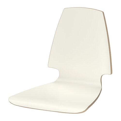 VILMAR Seat shell   The chair's melamine surface makes it durable and easy to keep clean.