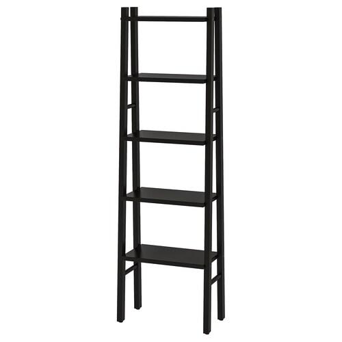 """VILTO shelf unit black 18 1/8 """" 10 1/4 """" 59 """""""