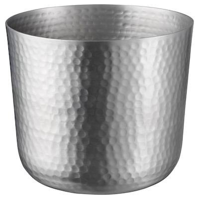 "VINDFLÄKT plant pot silver color 7 ¼ "" 7 ½ "" 6 "" 7 """