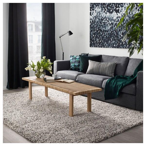 VINDUM Rug, High Pile - White. (CA) - IKEA
