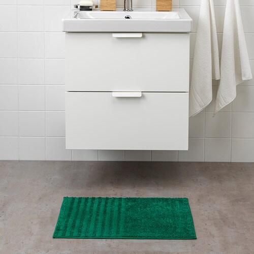 VINNFAR Bath Mat Dark Green IKEA