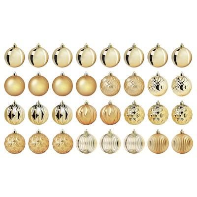 """VINTER 2020 Ornament, gold-colour, 3 ¼ """""""