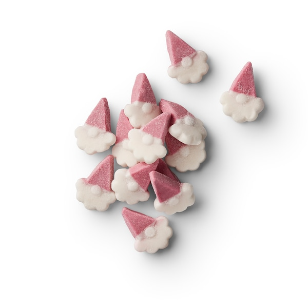VINTERSAGA Foam candy, cranberry with vanilla flavor, 3 oz