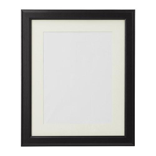 VIRSERUM Frame, dark brown - dark brown - 50x70 cm - IKEA