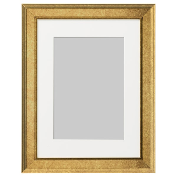 "VIRSERUM Frame, gold-colour, 12x16 """