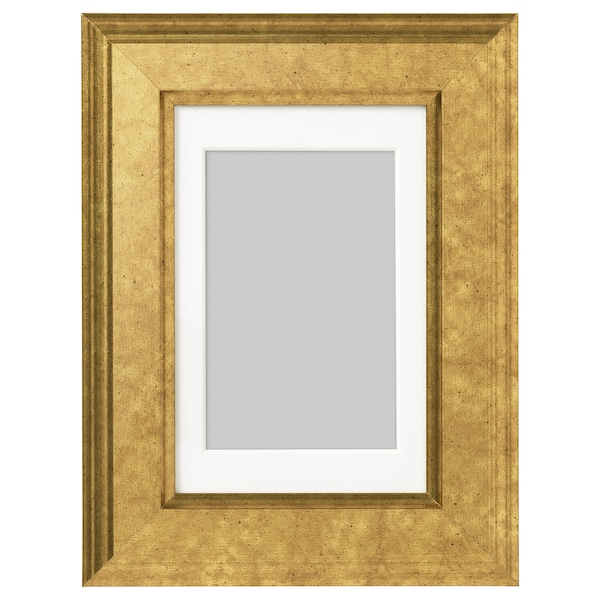 "VIRSERUM Frame, gold-colour, 4x6 """