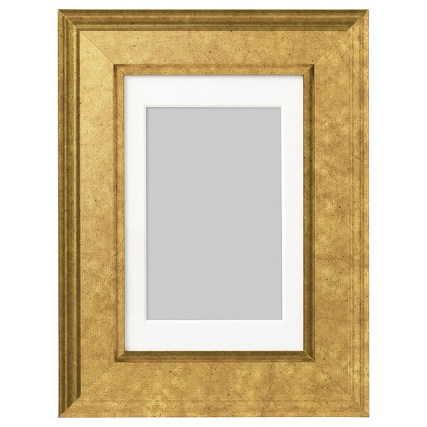 "VIRSERUM frame gold-colour 4 "" 6 "" 3 ¼ "" 4 ¾ "" 2 ¾ "" 4 ¼ "" 6 ¼ "" 8 ¼ """